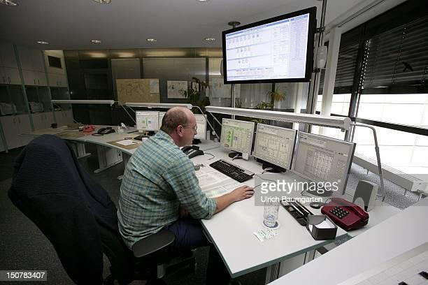 GERMANY BERLIN Wasserwerk Tegel Berlin Waterworks Berlin Tegel Our picture shows the control room