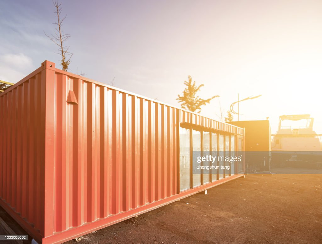 Container wall stock fotos und bilder