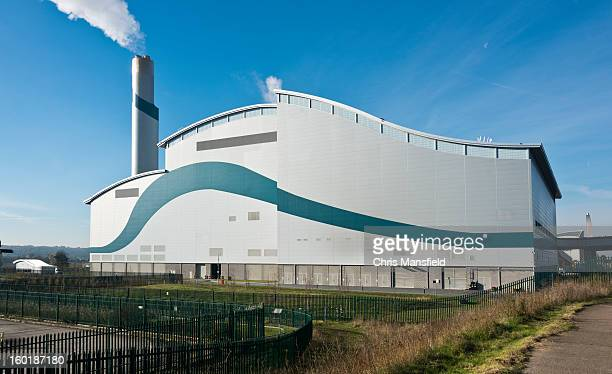 waste incinerator - incinerator stock photos and pictures