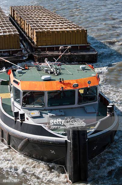 CONTENT] Waste is transported in sealed containers on barges of 300tonne capacity which are pulled by tugs down the River Thames Household waste is...