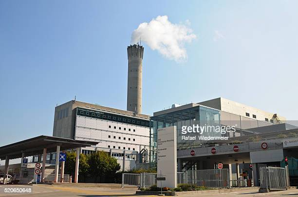 waste to energy plant - incinerator stock photos and pictures