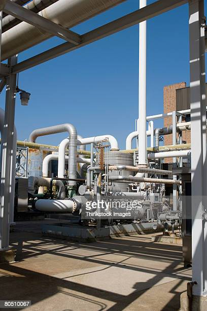 waste treatment plant exterior - thinkstock stock photos and pictures