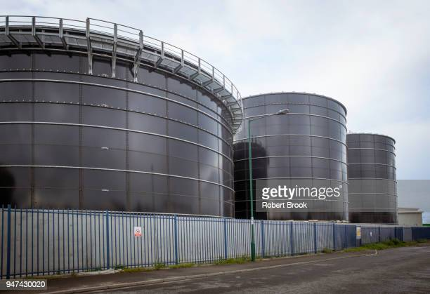 Waste-to-energy anaerobic digestion plant