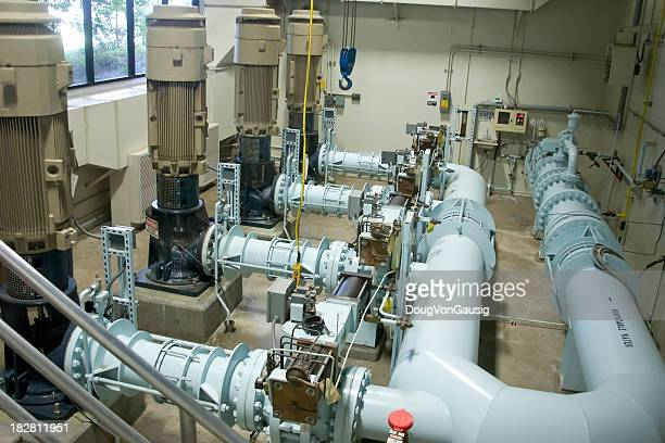 wastewater pumping station - sewer stock pictures, royalty-free photos & images