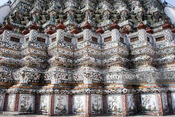 Wat Arun also known as Temple of Dawn is one of the most distinctive buildings in Bangkok Built in the Ayutthayan style the monument is a...