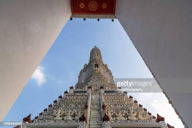wat arun , bangkok , thailand - bangkok province stock pictures, royalty-free photos & images