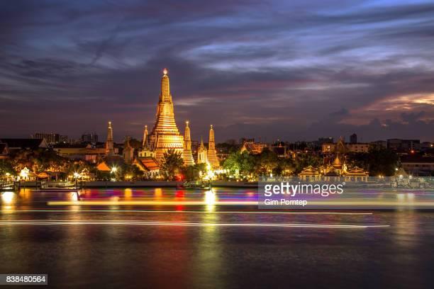 Wat arun landmark of bangkok , thailand