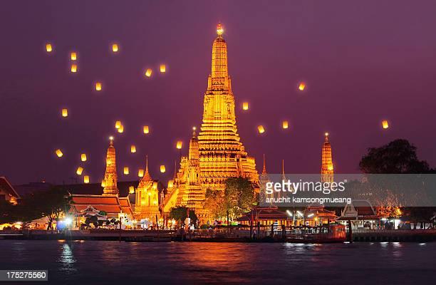 wat arun - bangkok stock pictures, royalty-free photos & images