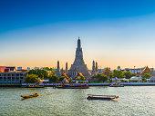 Wat Arun Temple of dawn in Bangkok Thailand