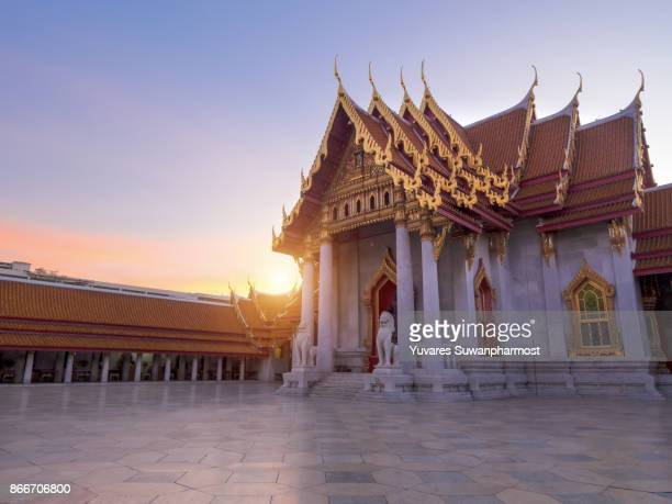 Wat Benchamabophit Dusitvanaram is a Buddhist temple in the Dusit district of Bangkok, Thailand. Also known as the marble temple, it is one of Bangkok's most beautiful temples and a major tourist attraction.