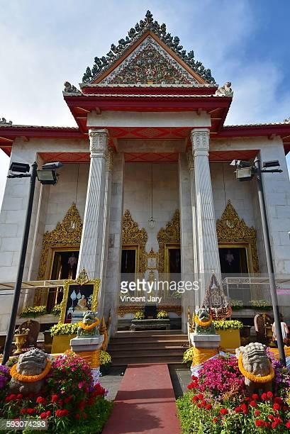 Wat Bowonniwet temple at Bangkok Thailand