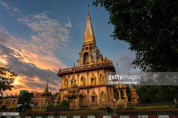 Wat Chalong or Chalong Temple The famous temples in Phuket