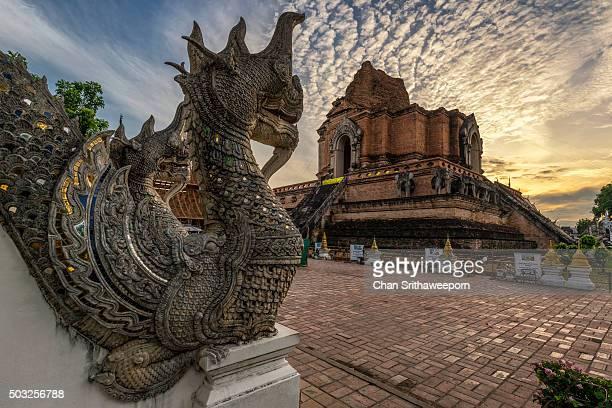 Wat Chedi Luang , Chiang Mai, Thailand