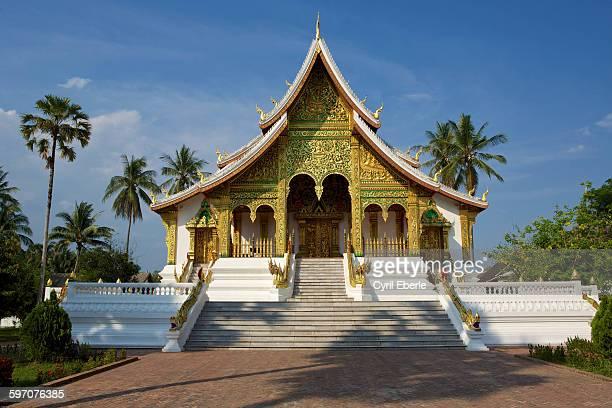 Wat Haw Pha Bang temple Luang Prabang, Laos
