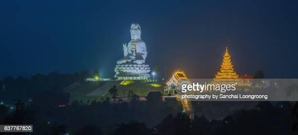 Wat Huay Pla Kang, Chinese temple in Chiang Rai Province,Thailand.