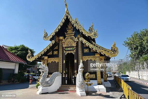 wat inthakhin sadue muang temple chiang mai thailand - reyes magos de oriente fotografías e imágenes de stock