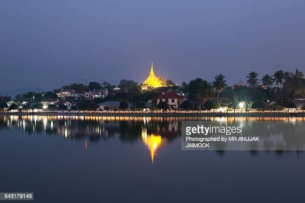 Wat Jom Kham in Keng Tung, Myanmar