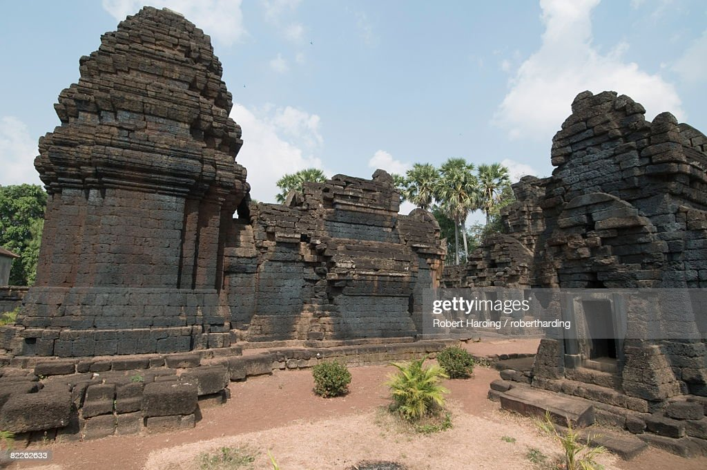 Wat Kohear Nokor, 11th century Hindu temple, Cambodia, Indochina, Southeast Asia, Asia : Stock Photo