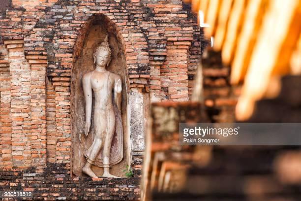 Wat Mahathat temple at Sukhothai historical park