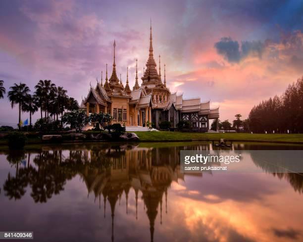 Wat Non Kum Temple in bangkok thailand .