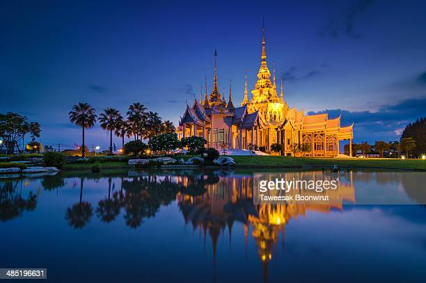 wat none kum temple - wat luang phor toh - wat stock pictures, royalty-free photos & images