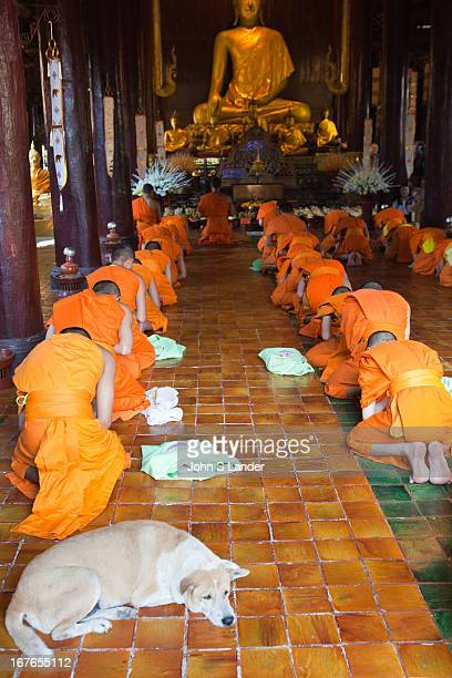 """Wat Pan Tao meaning """"to increase 1,000 times."""" The temple was built in the late fourteenth century and was one of four monastic temples serving the..."""