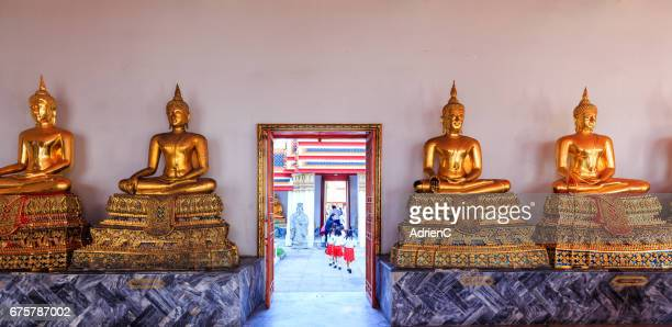 Wat Pho buddhist temple in Bangkok ( Thailand )