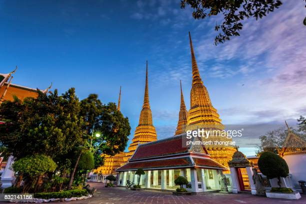 Wat Pho (the Temple of the Reclining Buddha) in Bangkok,Thailand.