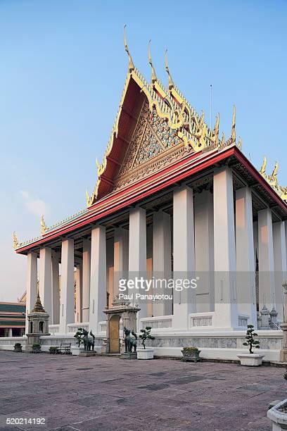 wat pho ubosot, bangkok, thailand - wat pho stock pictures, royalty-free photos & images