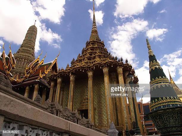Wat Phra Kaeo temple Bangkok Thailand
