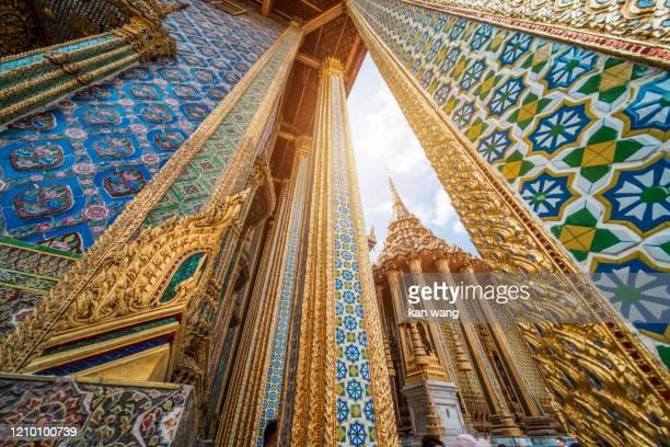 wat phra kaew, grand palace, bangkok - stock photo - grand palace - bangkok stock pictures, royalty-free photos & images