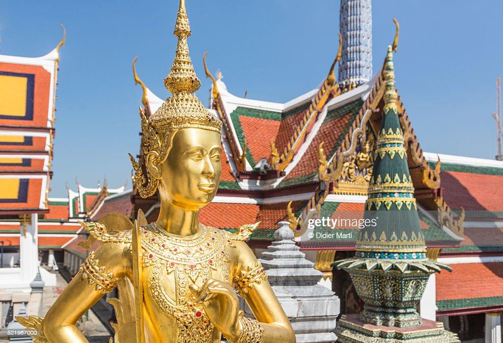 Wat Phra Kaew in Bangkok : Stock Photo
