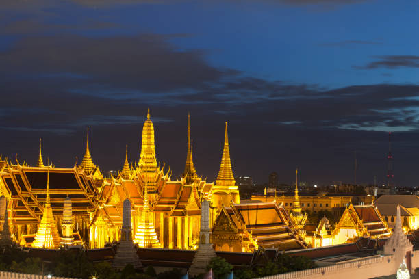 Wat Phra Kaew is regarded as the most sacred Buddhist temple in Thailand. The Emerald Buddha housed in the temple is a potent religio-political symbol and the palladium of Thai society