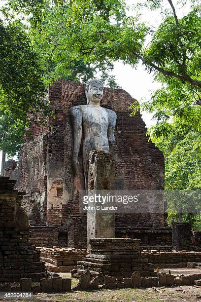 Wat Phra Si Iriyabot or Ariyabot is made up of four walls of laterite material with a mondop structure which once housed Buddha statues in four...