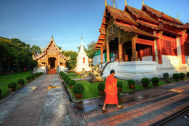 Wat Phra Singh, Chiang Mai Wall Art