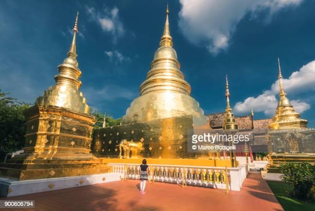 Wat phra singh temple. Chiang Mai, Thailand.