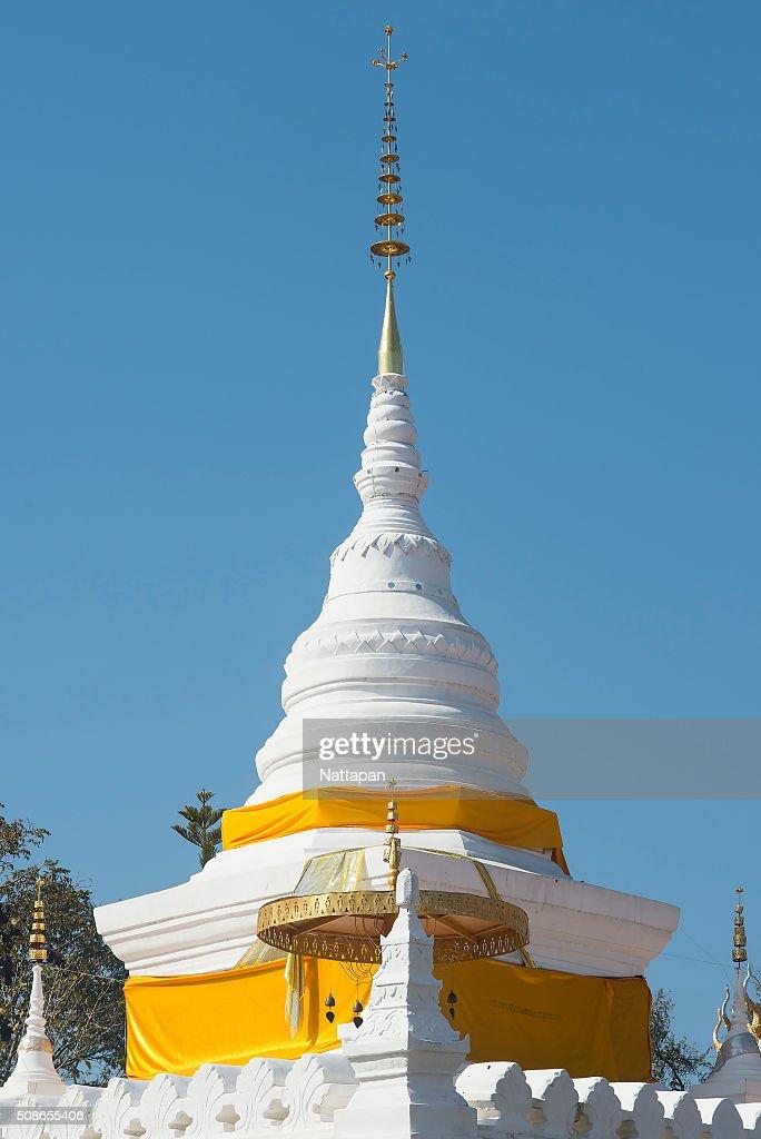 Wat Phra That Khao Noi, Nan Province, Thailand : Stock Photo