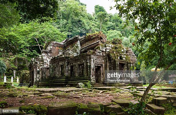 Wat Phu Champassack Lao People's Democratic Republic August 3 2012 Vat Phou is a ruined Khmer temple complex in southern Laos It is located at the...