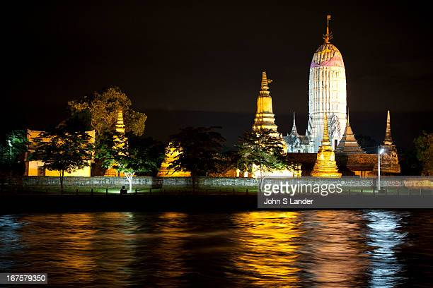 """Wat Phutthai Sawan or the Monastery of Lord Buddha of the Heavens""""was constructed by King UThong just south of the Chao Phraya River As the first..."""