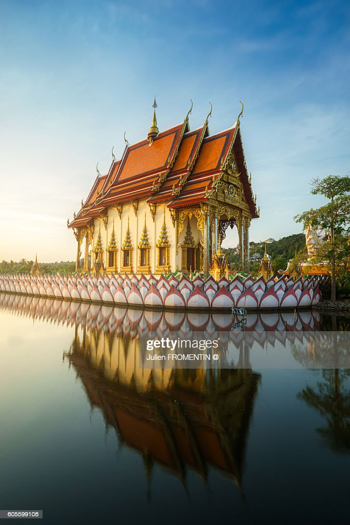 Wat Plai Laem, Koh Samui, Thailand, Asia : Stock Photo