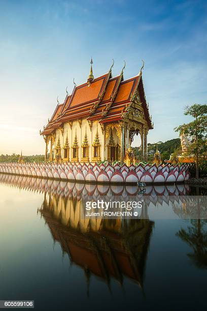 wat plai laem, koh samui, thailand, asia - ko samui stock photos and pictures