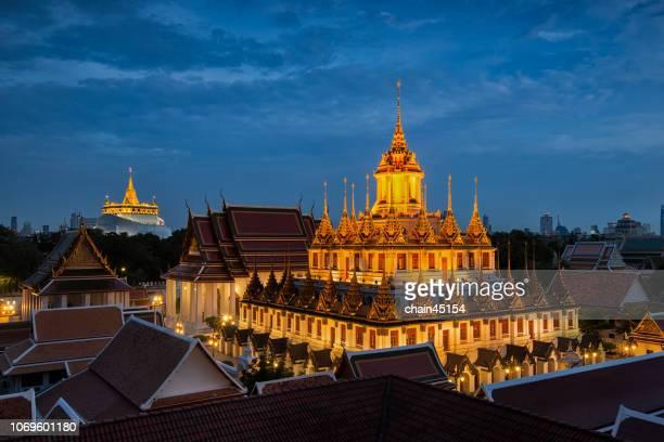Wat Ratchanatdaram is a Buddhist (Metal castle) temple in Bangkok, Thailand