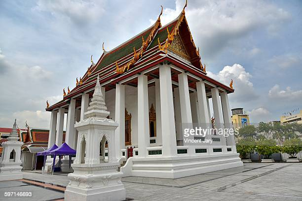 Wat Ratchanatdaram temple at Bangkok
