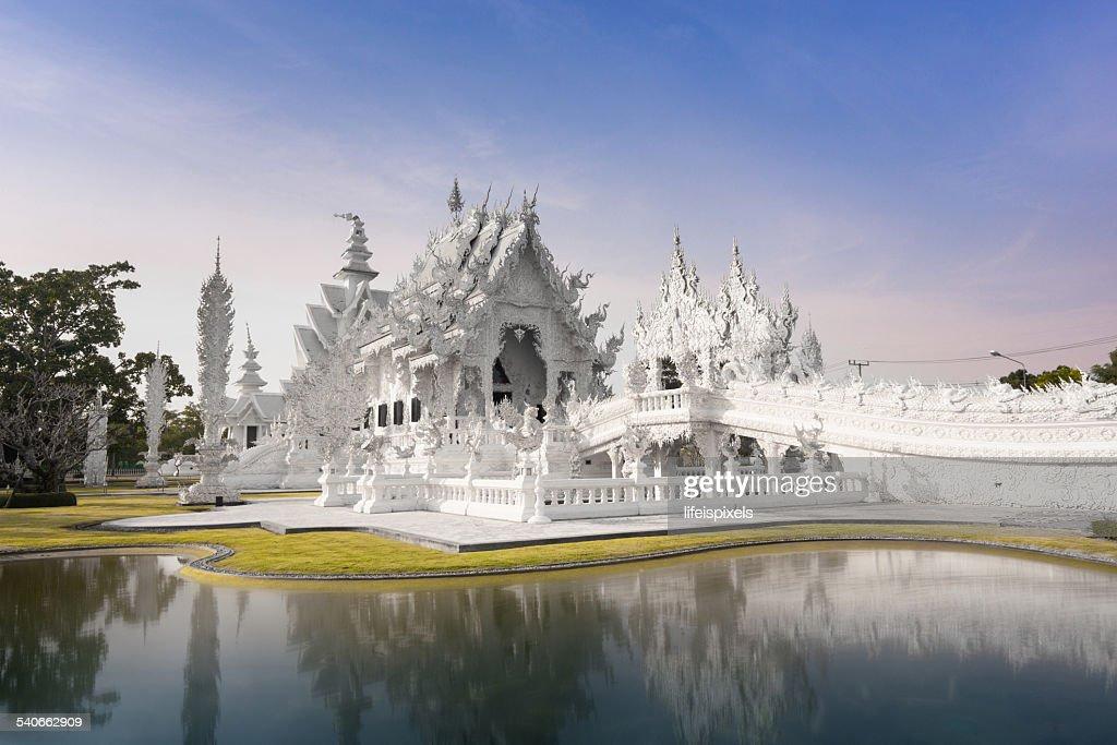 Wat Rong Khun : Stock Photo