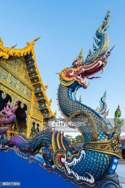 Wat Rong Suea Ten. Chiang Rai, Thailand.