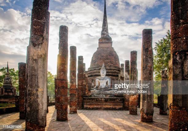wat sa si - buddhismus stock-fotos und bilder