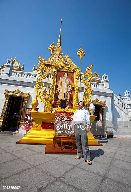 wat traimit, bangkok, thailand - jake warga stock pictures, royalty-free photos & images