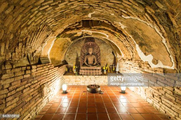 wat umong temple at chiang mai, thailand - wat stock pictures, royalty-free photos & images
