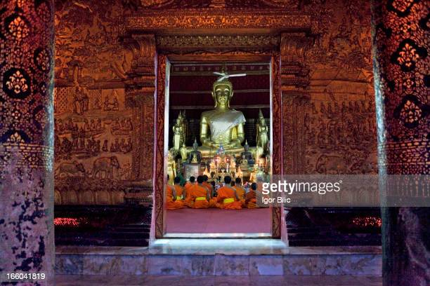 CONTENT] Wat Xieng Thong is a Buddhist temple located on the northern tip of the peninsula of Luang Phrabang Laos Wat Xieng Thong is one of the most...