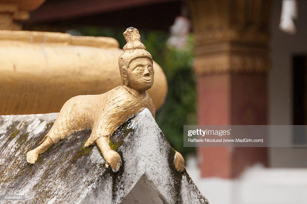 Wat Xieng Thong : Foto de stock